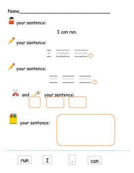 Read, Trace, Write, Glue, Illustrate
