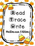 Read Trace Write Halloween Handwriting Practice