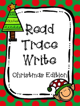 Read Trace Write Handwriting Practice Christmas Edition