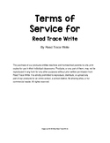 Read Trace Write TOS