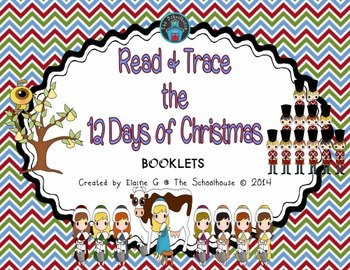 Read & Trace the 12 Days of Christmas Booklets