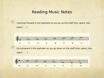Read Treble Clef