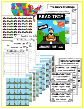 Read Trip Around the USA Reading challenge!!