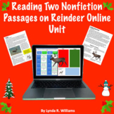 Read Two Text Passages On Reindeer Distance Learning Unit