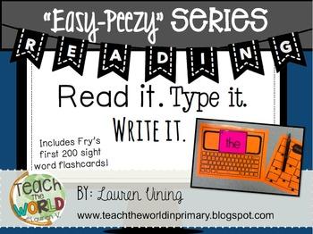 Read, Type, & Write