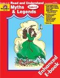 Read & Understand Myths & Legends, Grades 4-6