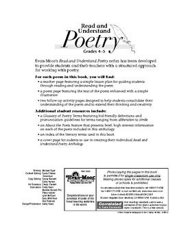 Read & Understand Poetry, Grades 4-5