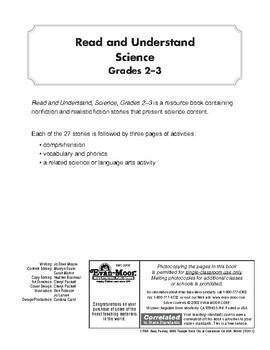 Read & Understand Science, Grades 2-3