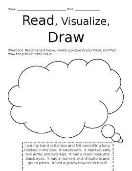 Read! Visualize! Draw!