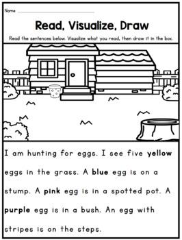 Read, Visualize, Draw: 1st Grade