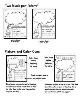 Read, Visualize, Draw for KINDERGARTEN