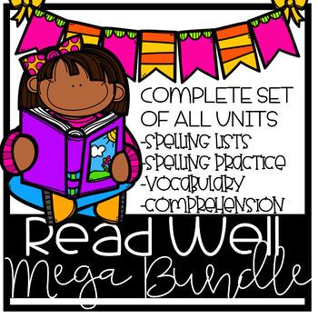 Read Well 1 MEGA bundle, units 6-38
