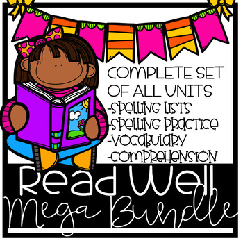Read Well extra practice MEGA bundle, units 6-38