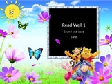 Read Well 1 Sound and word Cards