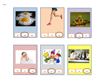Read Well 1 Task Cards, Units 24-38