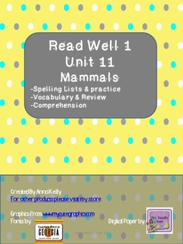 Read Well extra practice Unit 11 Packet
