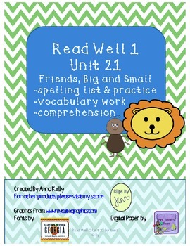 Read Well extra practice Unit 21