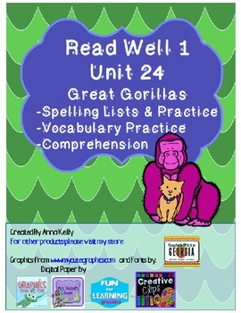 Read Well extra practice Unit 24 Packet