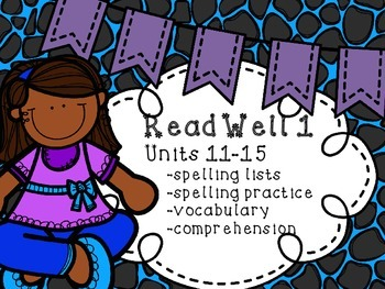 Read Well extra practice Units 11-15 Bundle