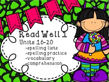 Read Well extra practice Units 16-20 Bundle