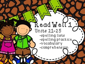 Read Well extra practice Units 21-25 Bundle