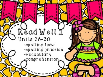 Read Well extra practice Units 26-30 Bundle