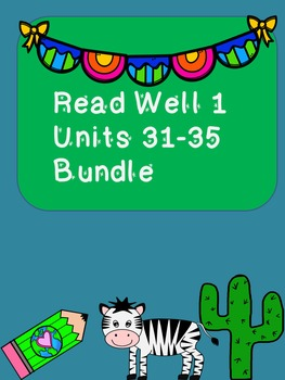 Read Well extra practice Units 31-35 Bundle