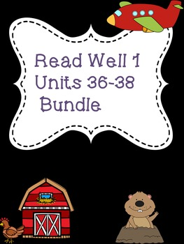 Read Well extra practice Units 36-38 Bundle