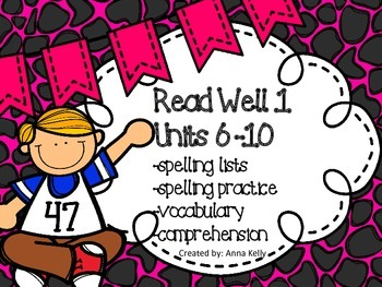 Read Well extra practice Units 6-10 Bundle
