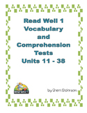 Read Well 1 Vocab and Comprehension Tests