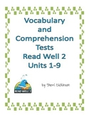Read Well 2 Comprehension Tests Part 1