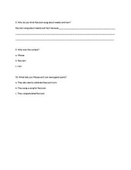 Read Well Fluency Foundations Unit A Test