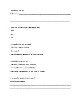 Read Well Fluency Foundations Unit C Test