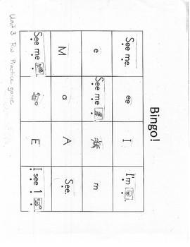 Read Well bingo game