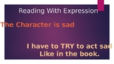 Read With Expression: Including Characteristics Of Feeling