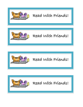 Read With Friend! Bookmark