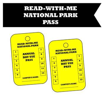 Read With Me National Park Pass