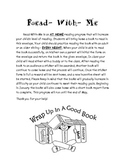 Read With Me:A Reading Incentive program