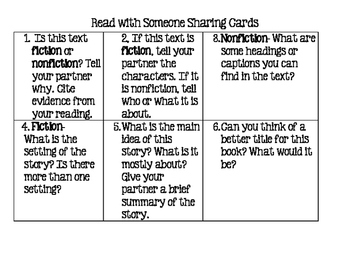 Read With Someone Sharing Cards