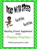 Reading Street First Grade Fluency Practice - Read With Speed
