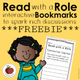 Read With a Role Bookmark *FREEBIE*