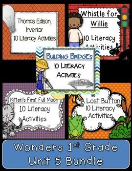 Read Wonders 1st Grade Unit 5 BUNDLE