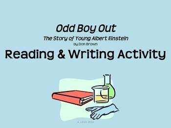 Read Write Activity with Odd Boy Out, Young Albert Einstein by Don Brown