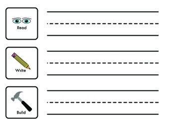 Read Write Build Sight Word Centre