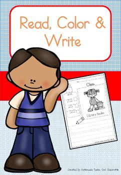 Read, Write & Color