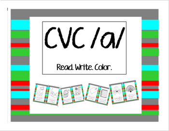 Read! Write! Color! Printable CVC Aa