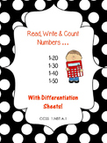 Read, Write, & Count Numbers to 50