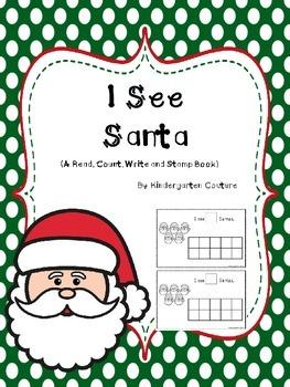 I See Santa  - A Counting Book