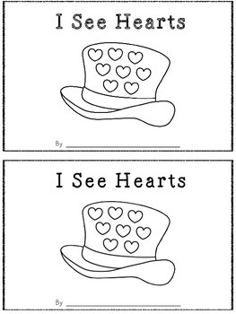 I See Hearts -A Count and Stamp Book