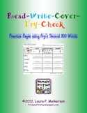 Read-Write-Cover-Try-Check Practice Pages for Fry's SECOND